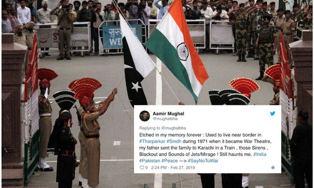 SayNoToWar Trends On Twitter, As Indians And Pakistanis Call For