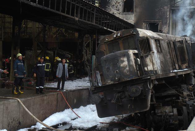 Egypte: Au moins 20 morts dans un accident en gare du
