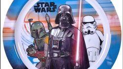 Ανακλήθηκε πιάτο Star Wars από τα Jumbo λόγω υπερβολικής