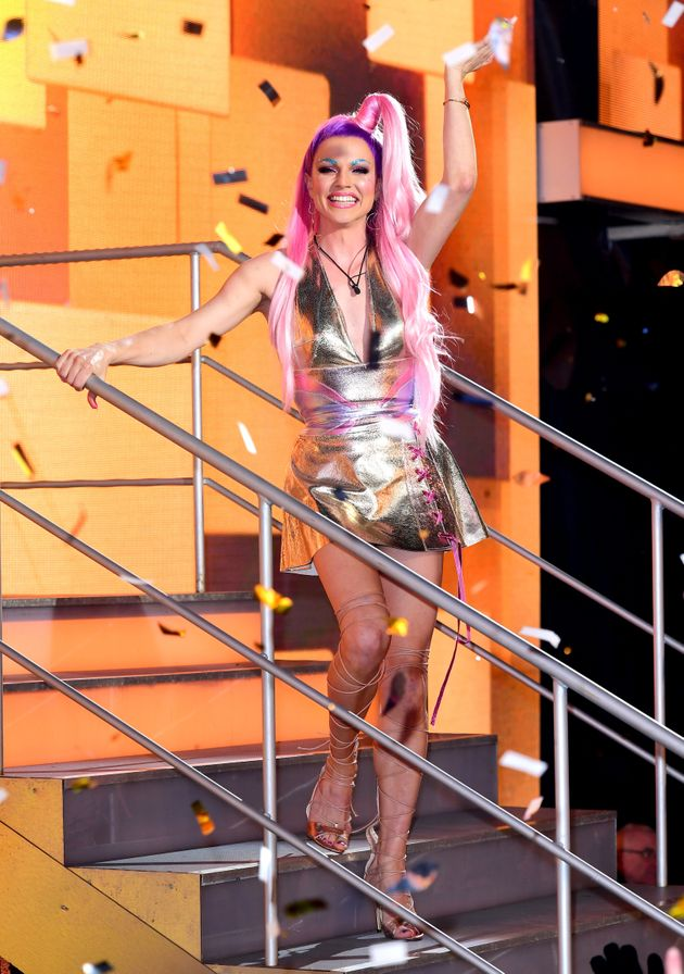 Courtney Act won over British TV audiences on Celebrity Big Brother last