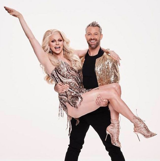 Courtney is paired up with Joshua Keefe on Dancing With The
