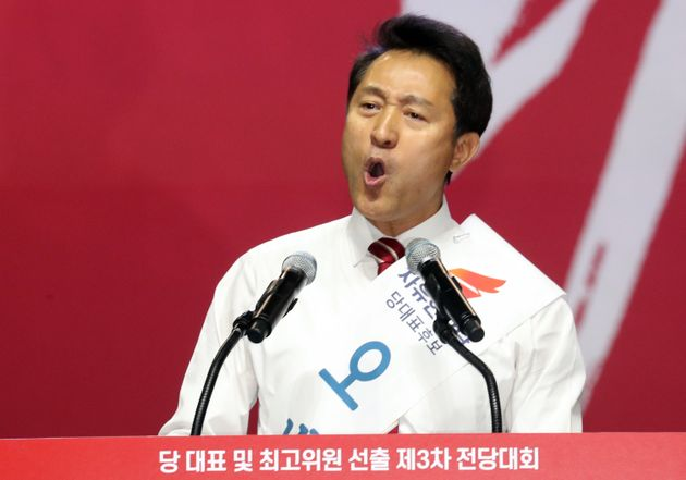 [자유한국당 전당대회] 일반 국민이 원한 자유한국당 당대표는 오세훈이었다(선거