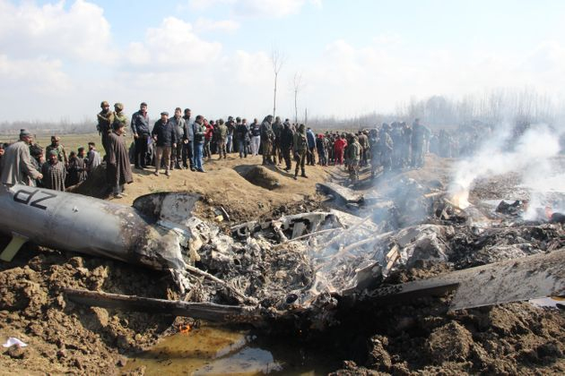 Budgam: Six Airmen, One Civilian Dead In Crash Indian Air Force