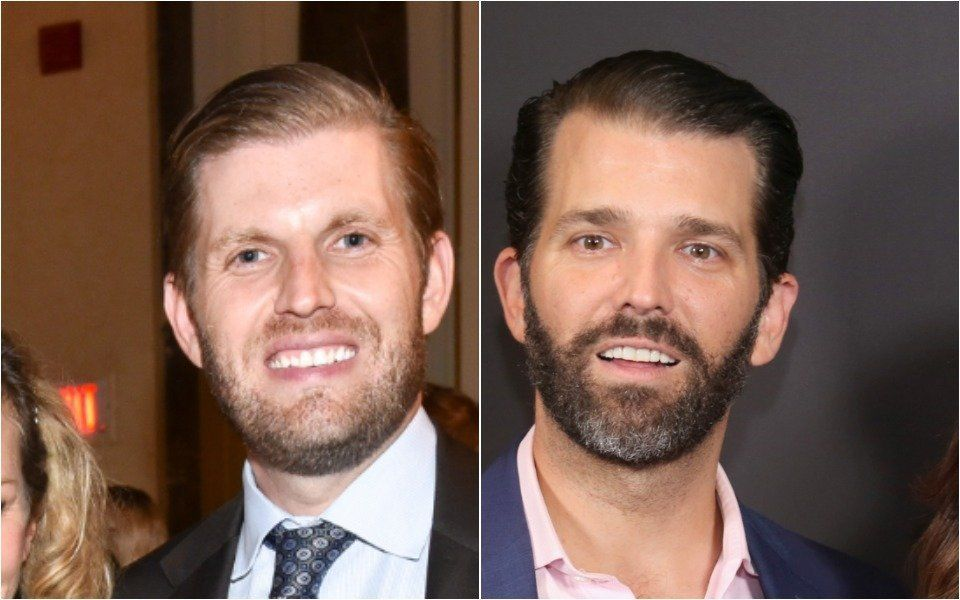 Eric Trump and Donald Trump Jr.