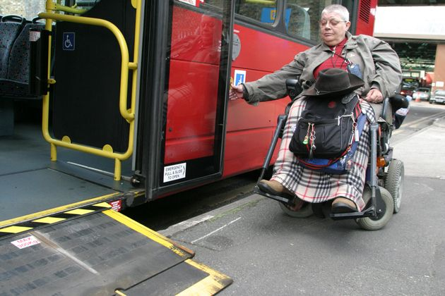 Nearly 10 million elderly and disabled people receive free off-peak bus travel in