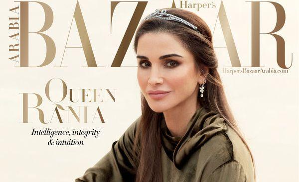 En couverture de Harper's Bazaar Arabia, la reine Rania de Jordanie parle des femmes de la