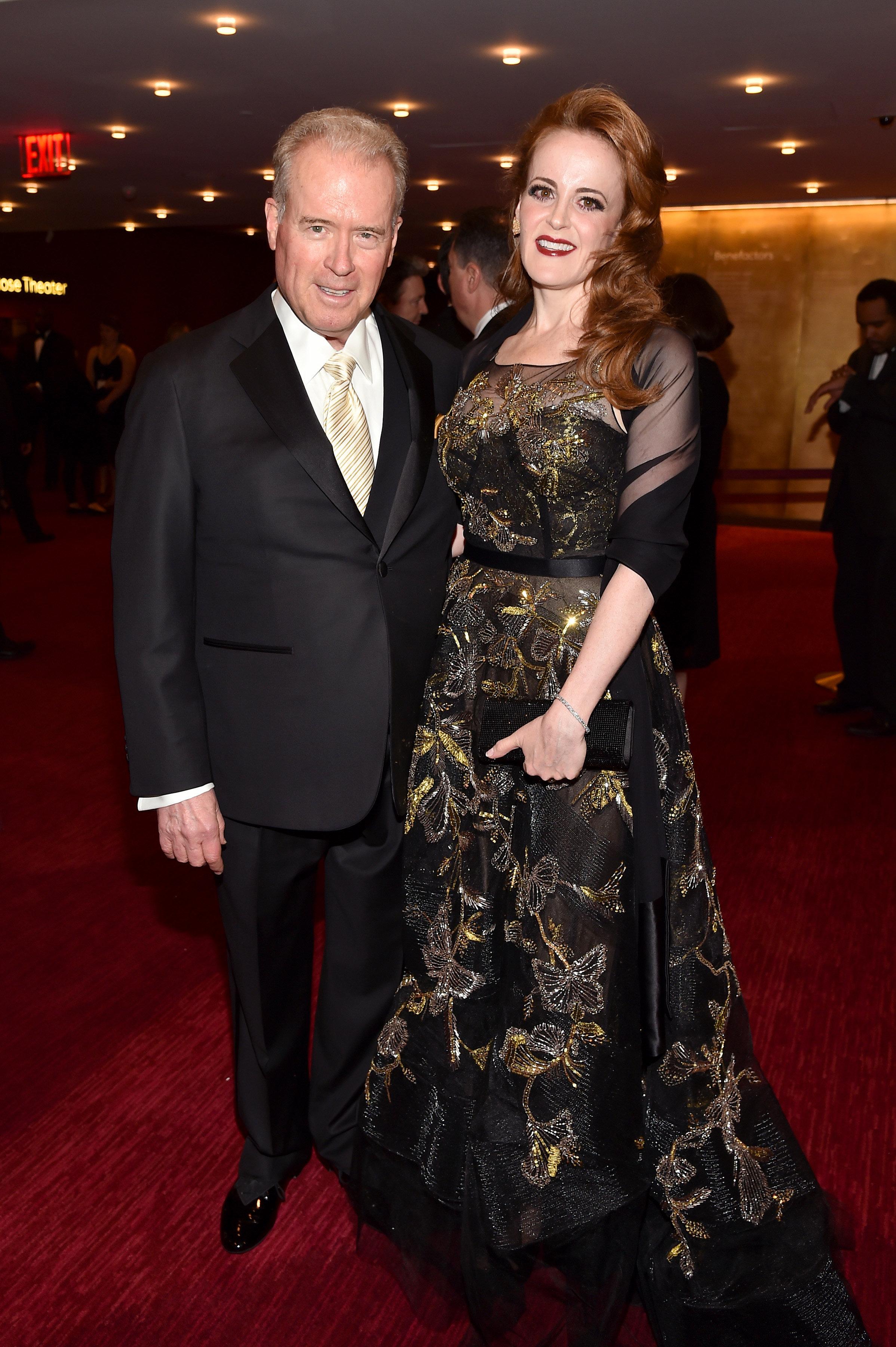Billionaires Robert Mercer and his daughter Rebekah Mercer.