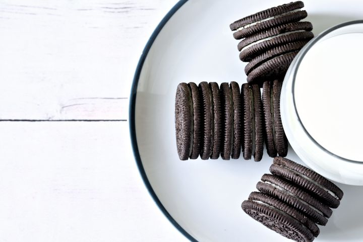 Bet you can't eat just one (sleeve of Oreos).