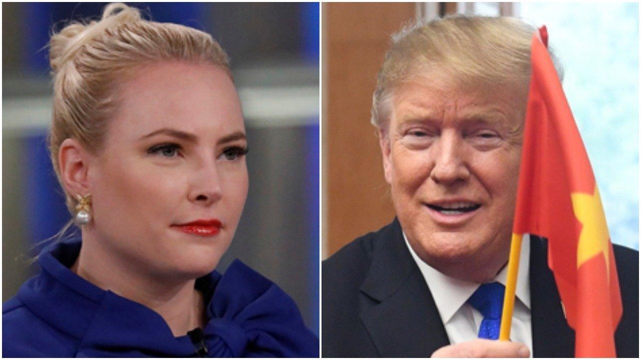 Meghan McCain shades Trump's Vietnam tweet.