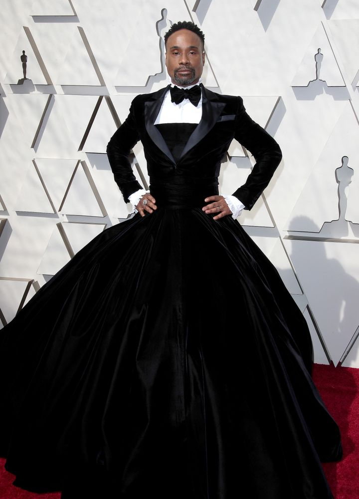 "Billy Porter on his custom-made Oscars tuxedo gown: ""If you don't like it, go somewhere else. You don't have to l"