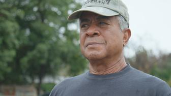 Tucker Smallwood has been suffering from PTSD since he had a near-death experience while deployed in Vietnam in 1969.