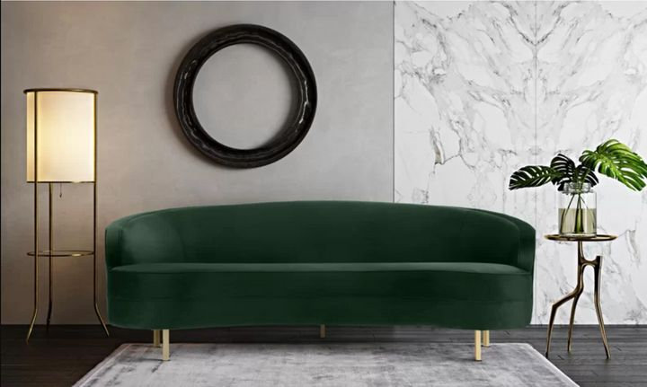 Awe Inspiring Where To Buy An Emerald Green Couch On Any Budget Huffpost Machost Co Dining Chair Design Ideas Machostcouk