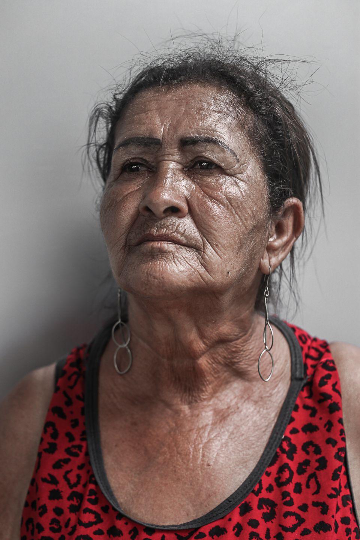 Irani Paiva, moradora do Córrego do
