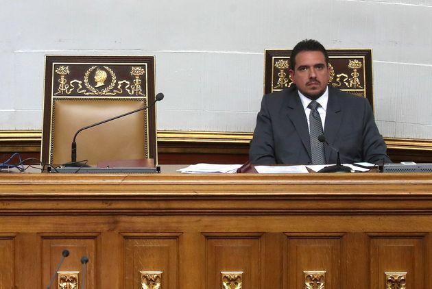 Assembleia Nacional da Venezuela realiza sessão mesmo sem o presidente do Legislativo, Juan