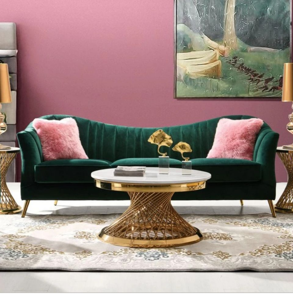 Where To Buy An Emerald Green Couch On Any Budget | HuffPost ...