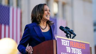 Democratic Sen. Kamala Harris, of California, speaks as she formally launches her presidential campaign at a rally in her hometown of Oakland, Calif., Sunday, Jan. 27, 2019. (AP Photo/Tony Avelar)