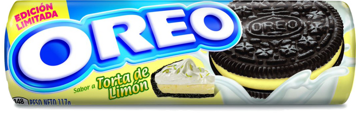 Unfortunately, Brazil's Torta de Limón (with lemon pie creme and chocolate cookies) hasn't been available in the United States.