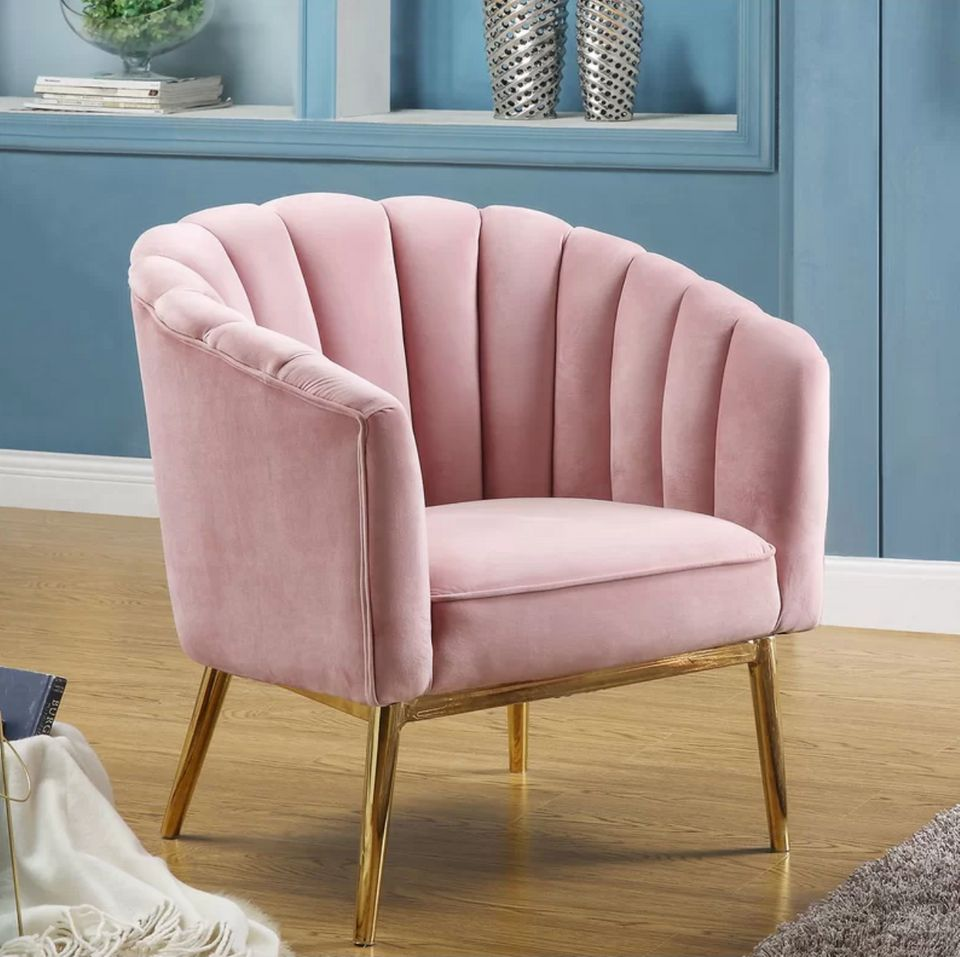 Where To Buy A Pretty Pink Accent Chair On Any Budget ...