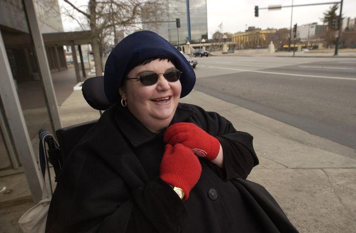 Carrie Ann Lucas in 2004.