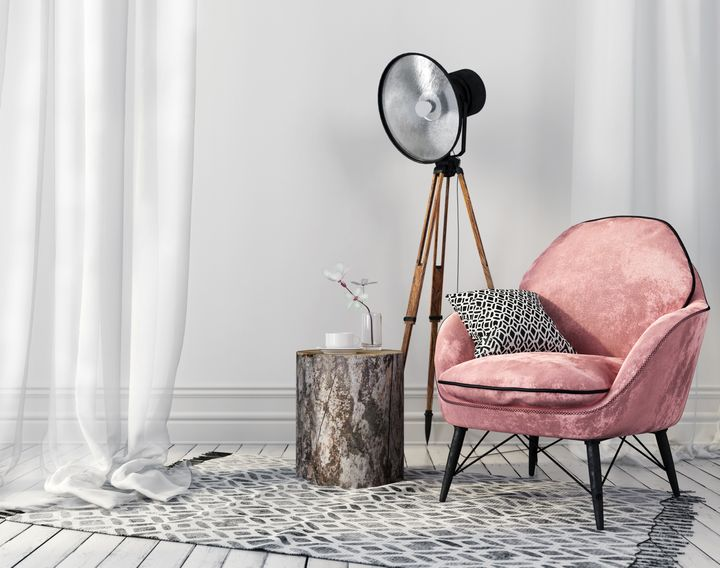 Superb Where To Buy A Pretty Pink Accent Chair On Any Budget Dailytribune Chair Design For Home Dailytribuneorg