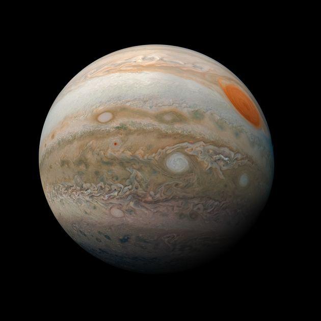 Breathtaking New NASA Images Show Jupiter's Otherworldy