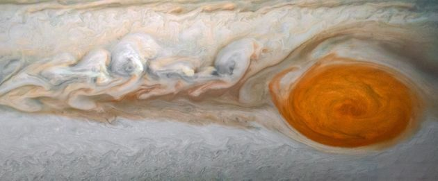 Breathtaking New NASA Images Show Jupiter's Otherworldy