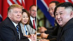 [속보] 트럼프와 김정은의 업무 오찬·공동서명식이