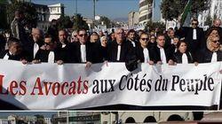 Marche des avocats à Tizi Ouzou contre le 5e