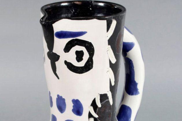 Il oublie un vase de Picasso dans un train, la police lance un