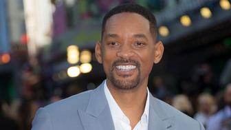 Actor Will Smith poses for photographers upon arrival at the European Premiere of Suicide Squad, at a central London cinema in Leicester Square, Wednesday, Aug 3, 2016. (AP Photo/Joel Ryan)