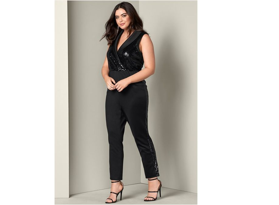 adbf2e2c929 20 Dressy Plus-Size Jumpsuits For Evening Wear