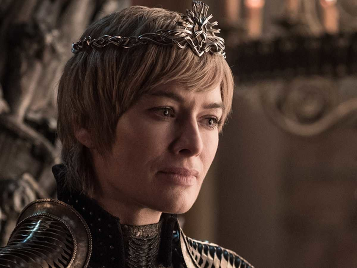Lena Headey as Cersei Lannister on
