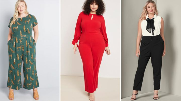 20 Dressy Plus Size Jumpsuits For Evening Wear Huffpost Life