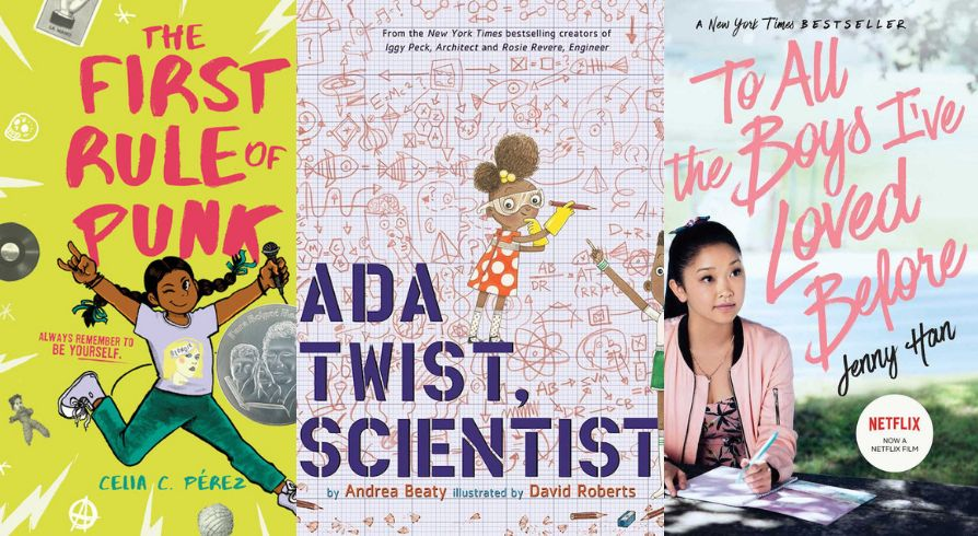 These picture books, middle grade reads and YA titles put strong girls in the spotlight.