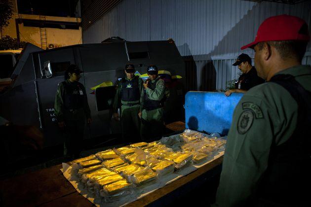 Μεταφορά χρυσού στην Βενεζουέλα το 2018