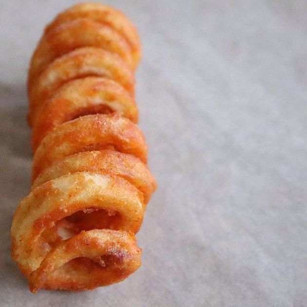 Curly fries: uma textura