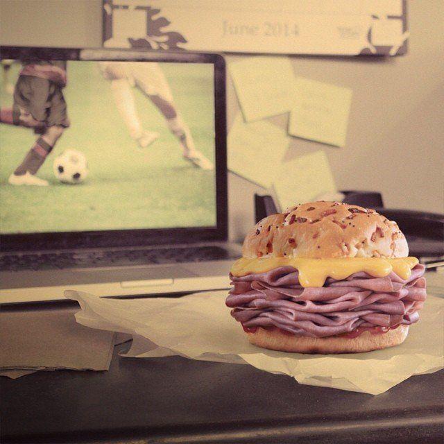 Muito rosbife era segredo dos sanduíches do Arby's.