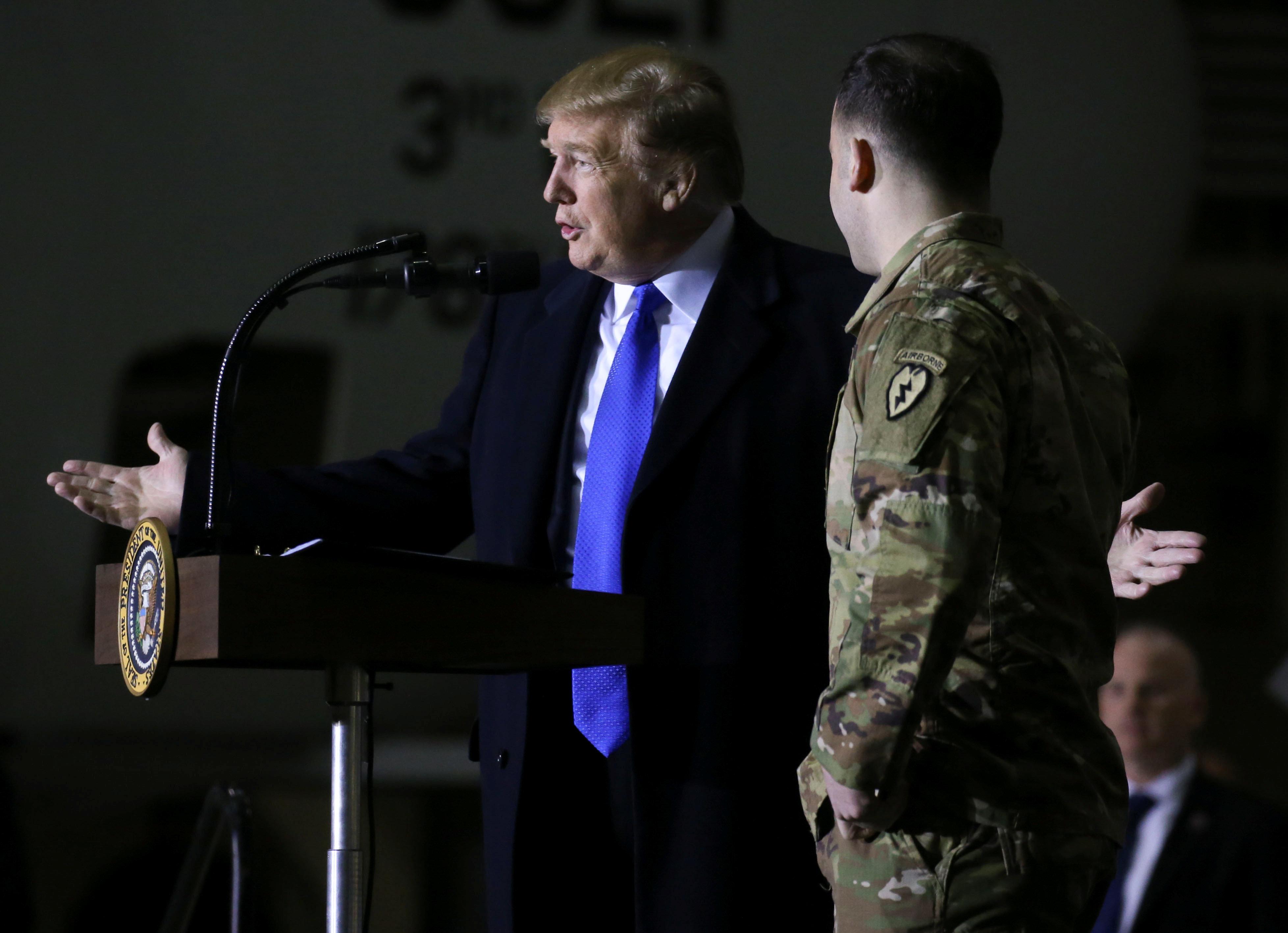 Τραμπ: Ανακατάληψη του 100% των εδαφών του ISIS στη