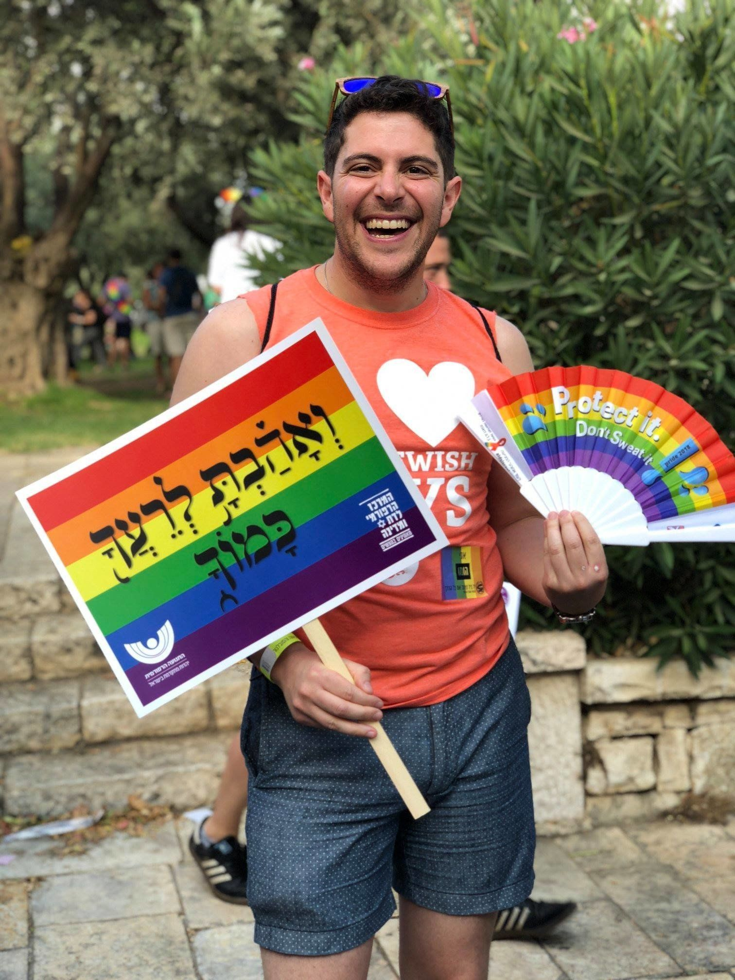 Sammy Kanter is a 32-year-old aspiring rabbi from Cincinnati currently studying in Israel.