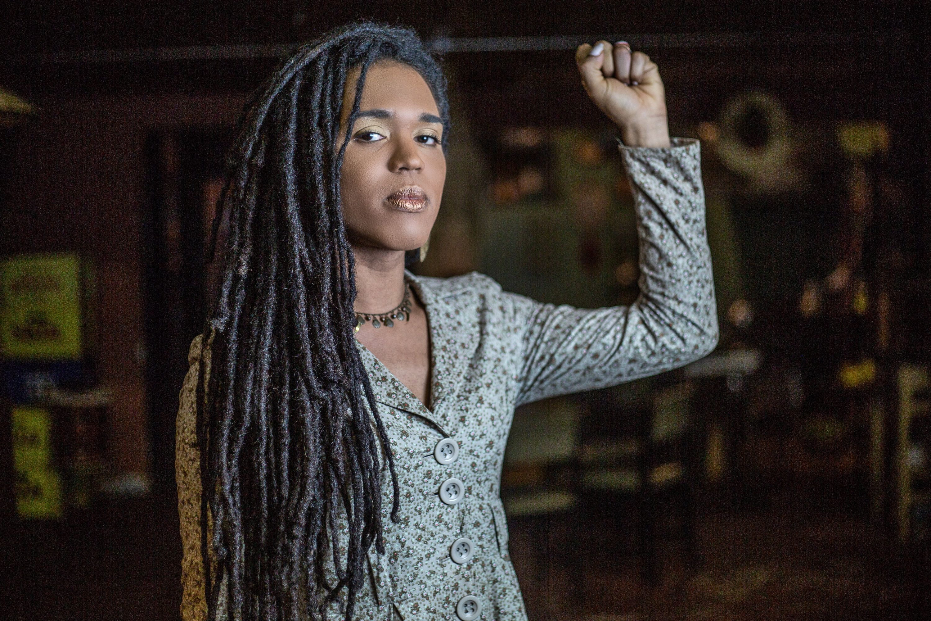 Erica Malunguinho, Brazil's first black trans woman to be elected a state representative.