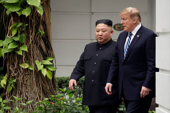Trump is the first sitting U.S. president to have met with a North Korean leader.