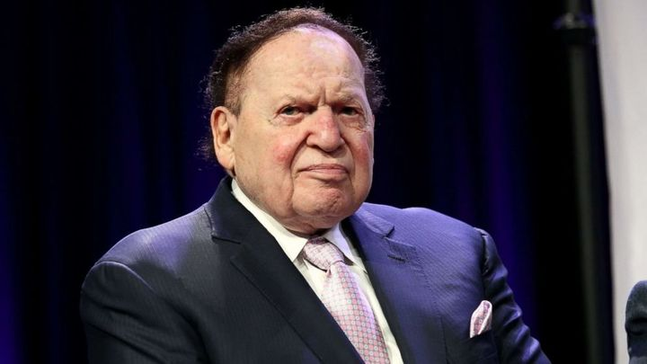 Sheldon Adelson, CEO and founder of the Las Vegas Sands, has died.