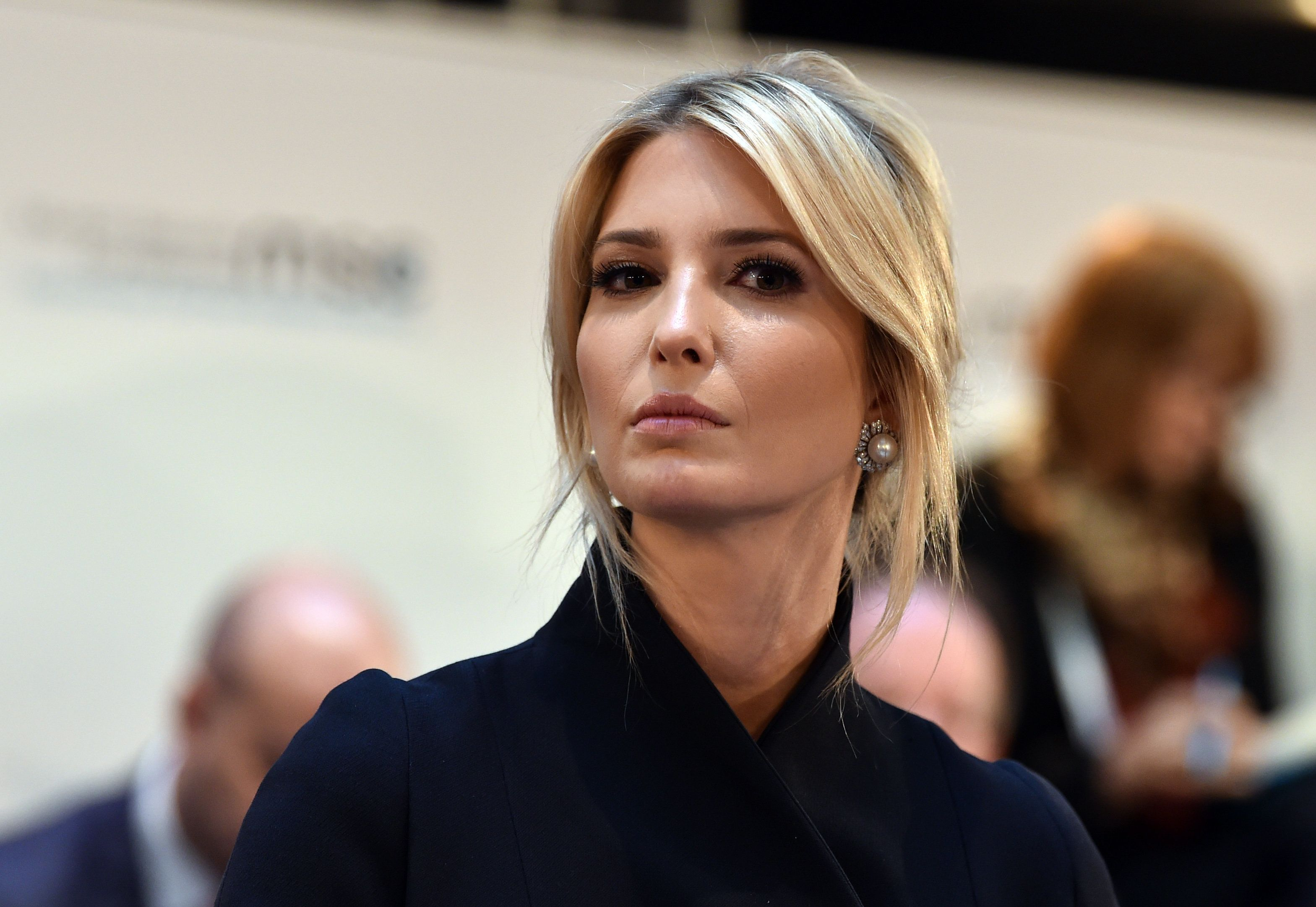 White House Presidential Advisor Ivanka Trump attends a panel discussion during the 55th Munich Security Conference in Munich, southern Germany, on February 16, 2019. (Photo by Christof STACHE / AFP)        (Photo credit should read CHRISTOF STACHE/AFP/Getty Images)