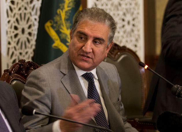 A file image of Pakistan Foreign Minister Shah Mahmood