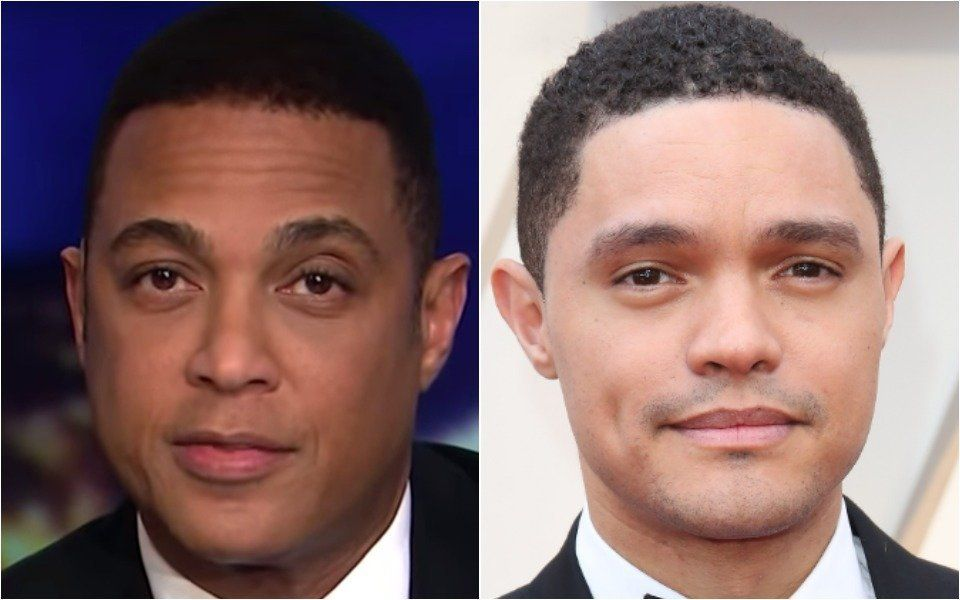 Don Lemon and Trevor Noah