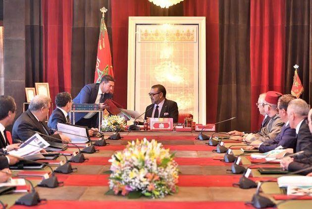 Le roi Mohammed VI préside une séance de travail centrée sur la formation