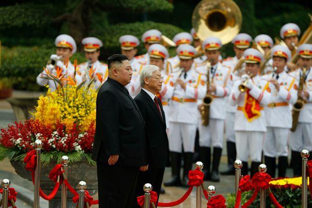 김정은 위원장이 '베트남 친선방문' 일정을