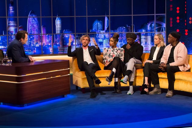 The coaches from The Voice join Seann on The Jonathan Ross