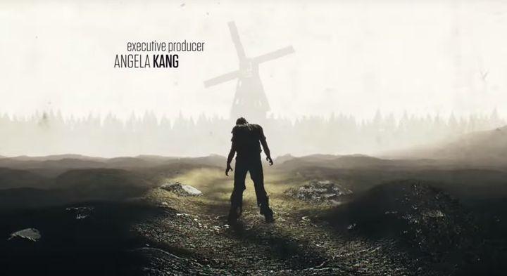 "Screenshot of ""The Walking Dead"" credits before update."
