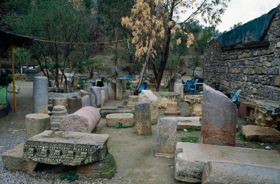 Vestiges de l'ancienne ville de Ziqua,